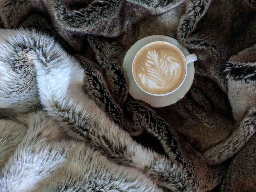 coffee on rug
