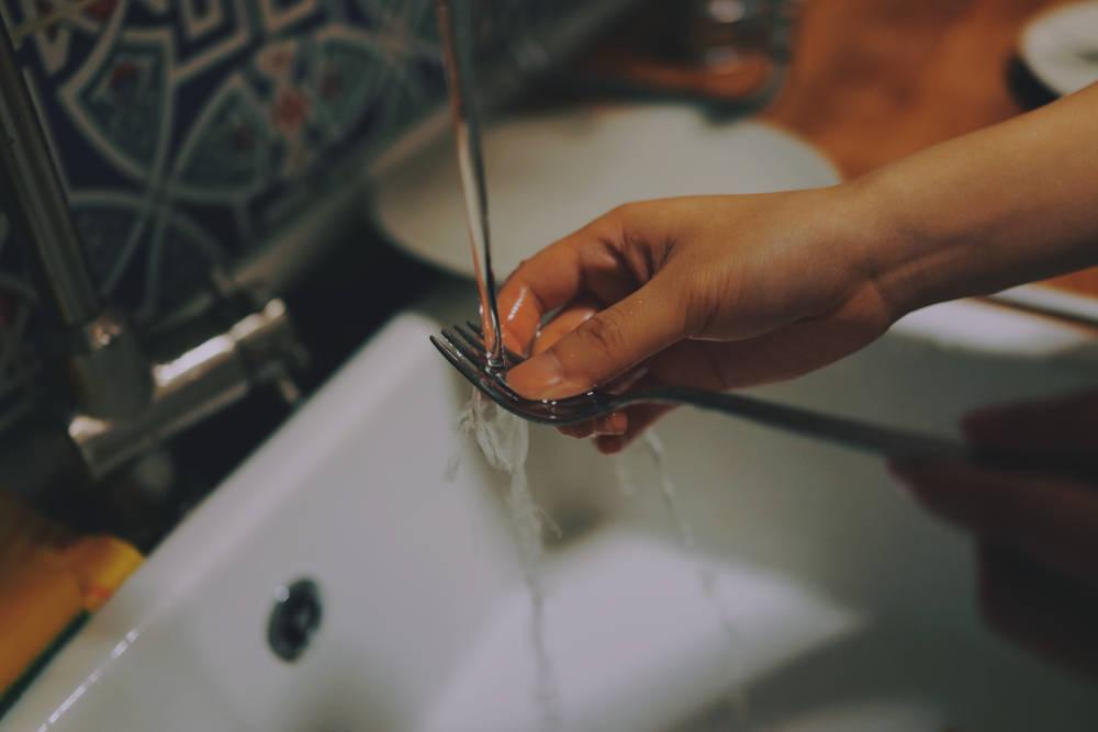 washing fork