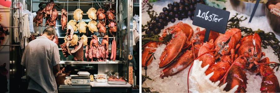 fishmonger or butcher