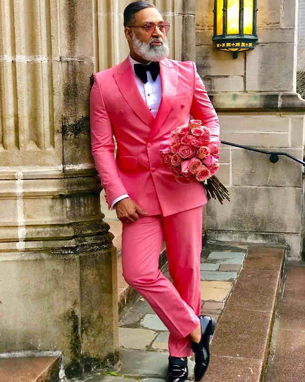 Irvin randle pink suit