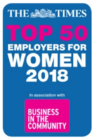 Times Top 50 Employers Women Logo