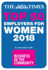 Times Top 50 Employers Women Logo
